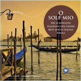 VARIOUS - O SOLE MIO/ FRANCO CORELLI [INSPIRATION]