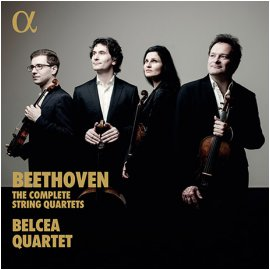 LUDWIG VAN BEETHOVEN - THE COMPLETE STRING QUARTETS/ BELCEA QUARTET [베토벤: 현악사중주 전곡 - 벨체아 사중주단]