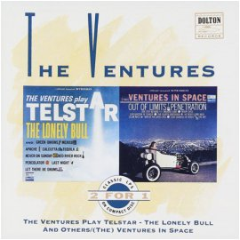 VENTURES - PLAY TELSTAR: THE LONELY BULL AND OTHERS & VENTURES IN SPACE[수입]*
