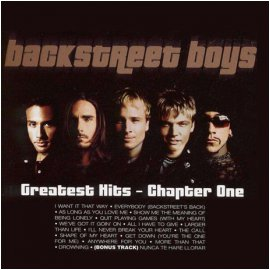 BACKSTREET BOYS - GREATEST HITS: CHAPTER ONE[수입]*