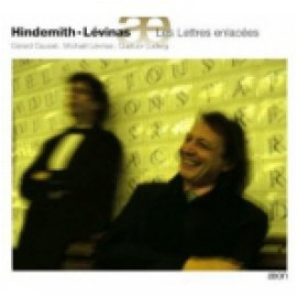 MICHAEL LEVINAS / PAUL HINDEMITH - LES LETTRES ENLACEES